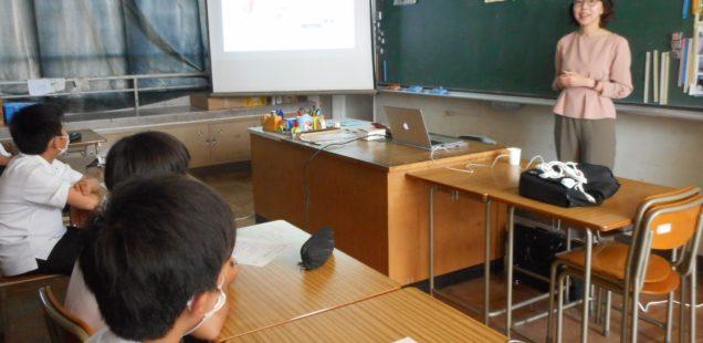 静岡市立大里中学校「放課後サークル」授業を担当させていただきました!